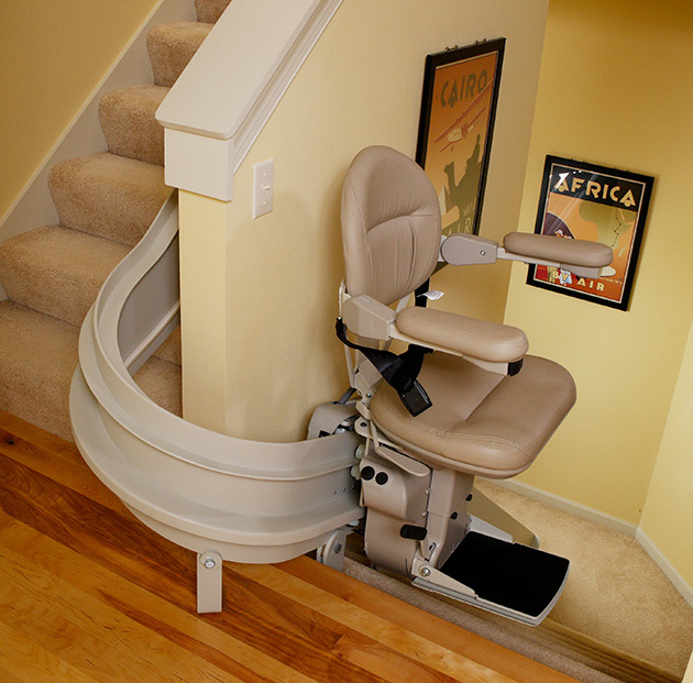 bruno cre2100 stairlift curved affordable are inexpensive cheap discount stair chairlift