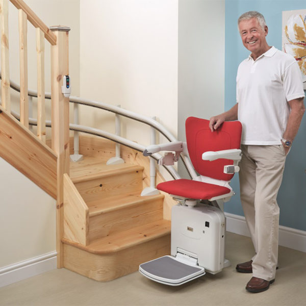 city curved stairlift